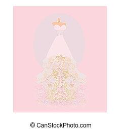 結婚式 服, 招待