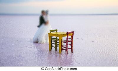 結婚式, 背景