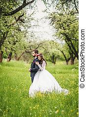 結婚式, 自然の散歩