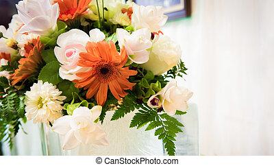 結婚式, 花