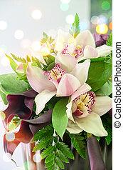 結婚式, 花, 束