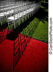 結婚式, 赤いカーペット