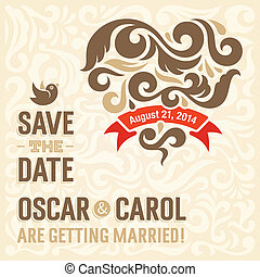 結婚式, 2, 招待