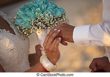 結婚指輪, 4, 交換