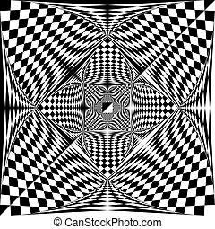 結束, 三角形, 蔓藤花紋, 空間, 結情, 斜紋織物, 消極, 旗, 背景, 透明