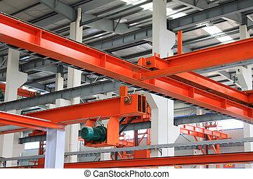 結构, 生產設備, 鋼, 紅色