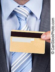 給, 商人, 卡片, 信用