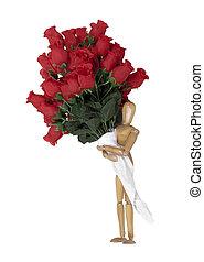 給, 玫瑰
