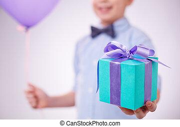 給, 禮物