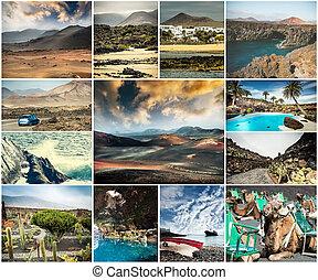 絵のよう, 光景, 光景, カナリア, lanzarote, 島