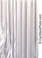 絹, カーテン, 背景, 白
