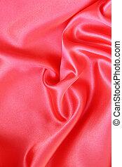絹, 滑らかである, 背景, 赤