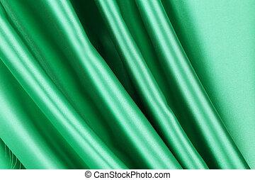 絹, 緑, drapery.