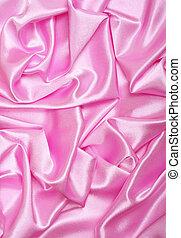 絹, 背景, 滑らかである, 優雅である, ピンク