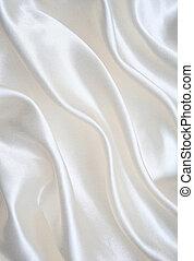 絹, 背景, 滑らかである, 優雅である, 白