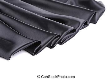 絹, 黒, drapery.