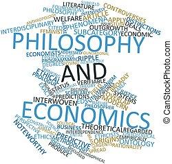 經濟, 詞, 雲, 哲學