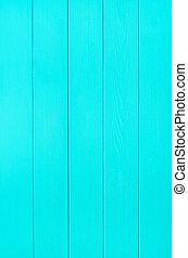 綠松石, 木頭, 板條, 背景, 結構