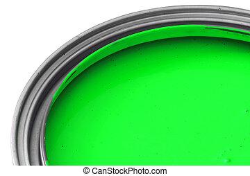 綠色的染料