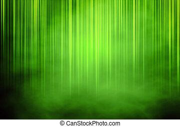 綠色的背景