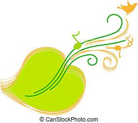 綠色, 圖表音樂