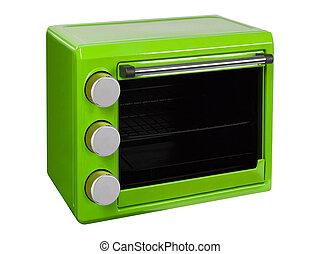 綠色, 微波爐