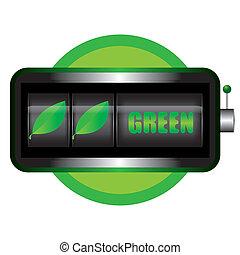 綠色, 概念, 矢量