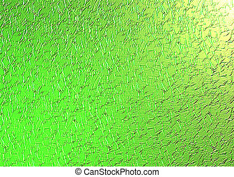 綠色, 結構