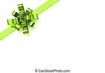 綠色, 聖誕節, 弓
