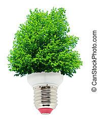 綠色, 能量