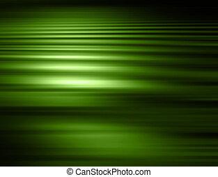 綠色, 迷離