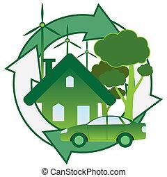 綠色, energy.