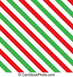 綠色, seamless, 糖果, 圖案, 條紋, 藤條, 紅色