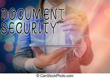維持, 文書, 概念, archives., テキスト, 執筆, すべて, セキュリティー, security., 重要, 手書き, 意味