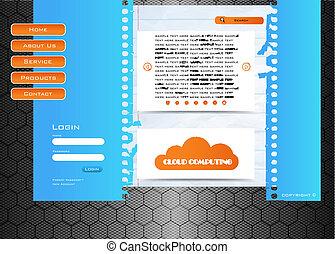 網の設計, サイト