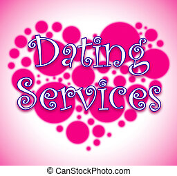 網ビジネス, 提示, サイト, サービス, デートする
