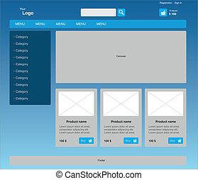 網, グラフィック, ゆとり, 現代, business., webdesign, テンプレート, インターネット
