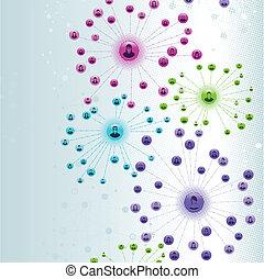 網, ネットワーク, 社会