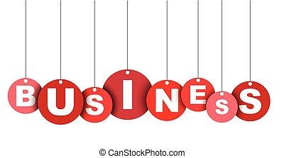 網, ベクトル, これ, 旗, 井戸, 隔離された, イラスト, business., タグ, 容易である, 円, 要素, adapted, 赤, design.