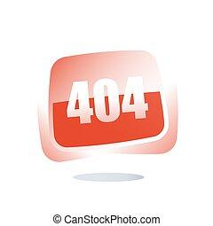 網, ローディング, 失敗, 概念, 間違い, 数, 注意, ページ, 404, メッセージ, テンプレート, ない, 見いだされた, 旗, ボタン, 赤