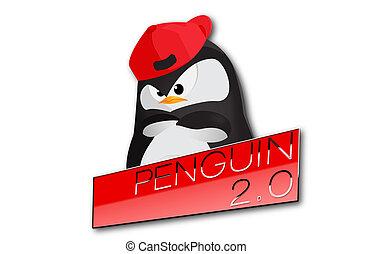 網, 更新, リンク, seo, 2.0, ペンギン