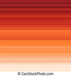 網, 概念, 背景, sky., 色, ストライプ, イラスト, オレンジ, ベクトル, 日没, テンプレート, 印刷, design.
