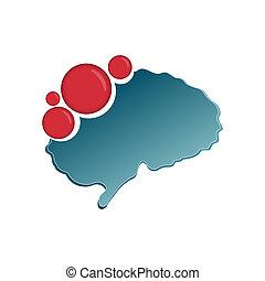 網, 概念, 芸術, ビジネス, アプリケーション, モビール, 抽象的, 隔離された, 媒体, 創造的, シンボル, 脳, infographic, イラスト, テンプレート, 社会, アイコン, ロゴ, イメージ, デザイン, 背景