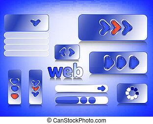 網, 要素, デザイン