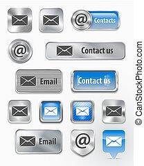 網, 要素, contacts/mail/email