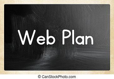 網, 計画, 概念