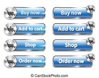 網, 金属, オンラインで買い物をする, elements/buttons