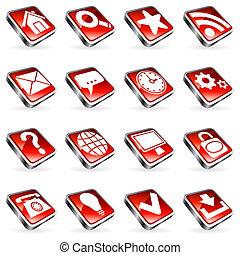 網, icons.