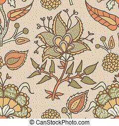 綿, ペイズリー織, fabrics., 国民, 装飾, リンネル, indian