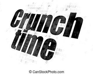 緊張状態, ビジネス, 時間, 背景, デジタル, concept: